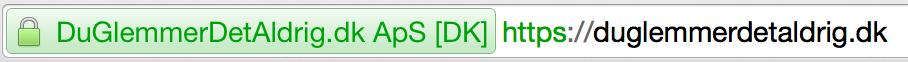 SSL på duglemmerdetaldrig.dk